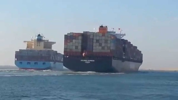 1 container-ship-collision-suez-canal