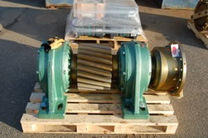 winch drive pinion