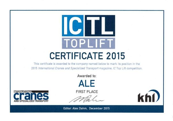 Top-Lift-certificate