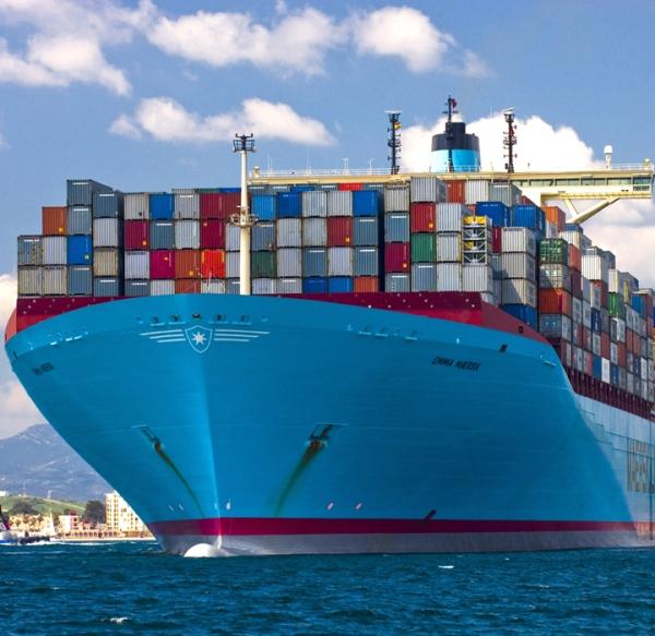 Emma Maersk APMT Algeciras Spain